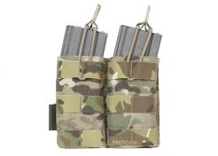 Mag Pouch Warrior Assault Systems Double Molle Open 5.56 mm Multicam