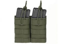 Mag Pouch Warrior Assault Systems Double Molle Open 5.56 mm OD Green