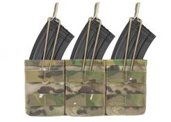 Mag Pouch Warrior Assault Systems Triple Molle Open AK 7.62 mm Multicam