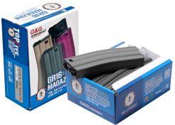 Magazijn G&G GR16 Hi-Cap 5 pack Grey 450Rds