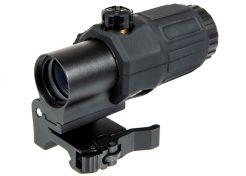 Voorzetvergroting Aim-O ET Style G33 3x Black Omgedraaid