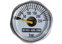 Pressure Gauge Huma 1/8 BSP 23mm