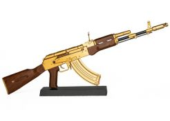 Miniature Goatguns Mini AK47 Gold