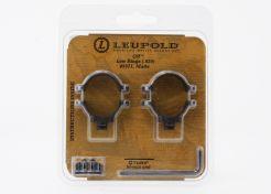 Mount rings Leupold QR 25.4 mm Low Matt