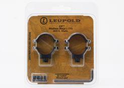 Mount rings Leupold QR 25.4 mm Medium Matt