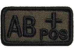 Patch Bloedgroep AB+ Positief