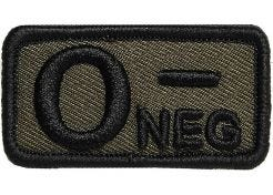 Patch Blood Type O- Negative