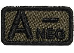 Patch Blood Type A- Negative
