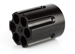 Pennenstandaard Barbuzzo Revolver Cilinder Black