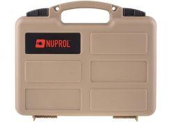 Pistoolkoffer Nuprol Tan 30x19