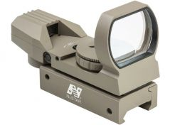Red Dot NcSTAR Red/Green Four Reticle Reflex Sight Tan