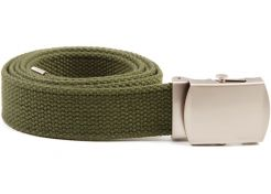 Riem 101 Inc. Tropenkoppel met Chrome Gesp Green