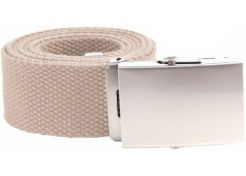 Belt 101 Inc. Tropenkoppel with Chrome Buckle Khaki