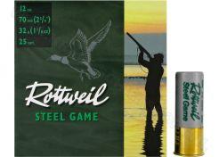 Hagelpatronen Rottweil Steel Game 12-70-6.5 32 gram