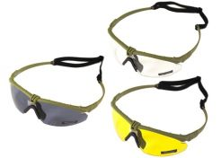 Glasses Nuprol Battle Pro's with optical insert Green Frame