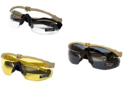 Glasses Nuprol Battle Pro's Tan Frame