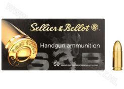 Kogelpatronen Sellier & Bellot 9 mm FMJ 124 grain
