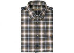 Shirt Blaser Lasse Off White / Olive / Light Blue Checked