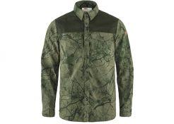 Overhemd Fjällräven Värmland G-1000 Green Camo / Deep Forest