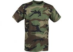 T-shirt Helikon-Tex US Woodland