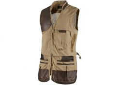Schietvest Blaser Parcours Camel Brown Right