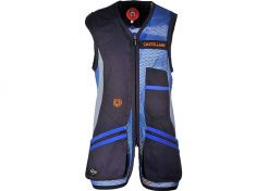 Shooting Vest Castellani Sport Rio Blue / Grey