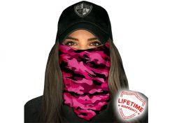 Sjaal SA Company Military Camo Pink
