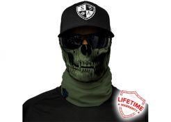 Scarf SA Company Tactical Skull OD Green