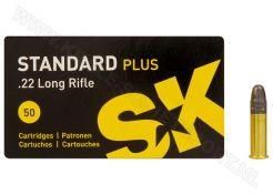 Kogelpatronen SK Standard Plus .22 LR RN 40 Grain