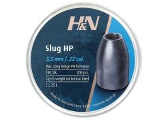 Airgun Slugs H&N 5.5 mm HP 30 grain (.217)