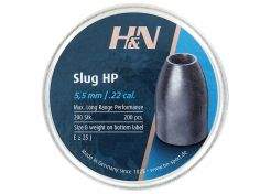 Slugs H&N 5.5 mm HP 23 grain (.217)