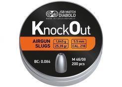 Slugs JSB Knock Out 5.5 mm 25.39 grain