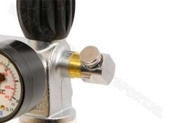 Push button BF bleed valve M10x1 for MDE valves