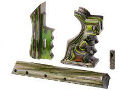 Kolfonderdelen Set CMG Airguns voor FX Impact Green Camo Laminated