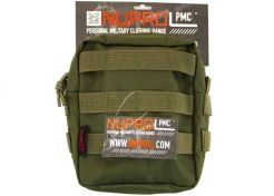Utility Pouch Nuprol Medium Zipped Green
