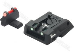 Adjustable Carry Sight Set LPA SPF Fiberglass