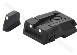 Adjustable Carry Sight Set LPA SPS 3 Dots
