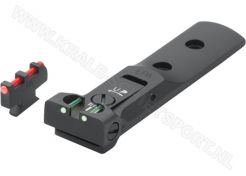 Adjustable Sight Set LPA TXT Fiberglass Black