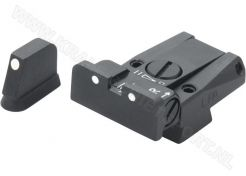 Adjustable Sight Set LPA SPR 3 Dots
