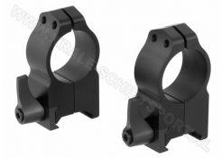 Montage Warne Maxima 25.4mm QD Extra High Weaver/Picatinny
