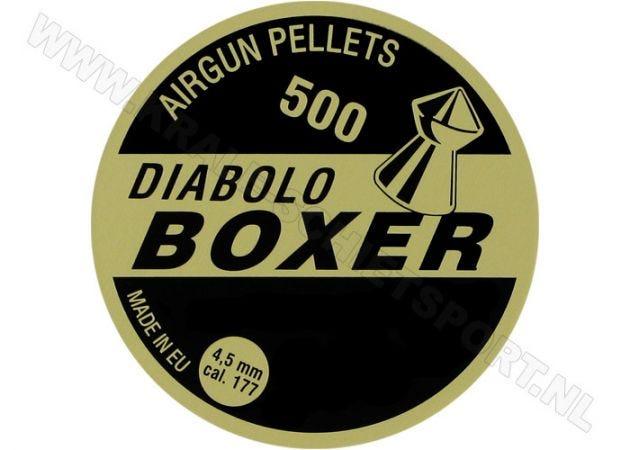 Airgun Pellets Diabolo Boxer 4.5 mm 8.5 grain