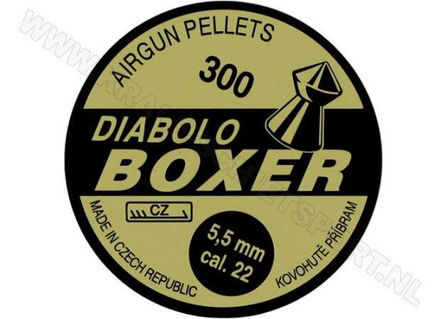 Airgun Pellets Diabolo Boxer 5.5 mm 14 grain