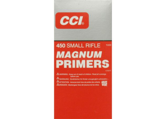 Slaghoedjes CCI Small Rifle Magnum 450