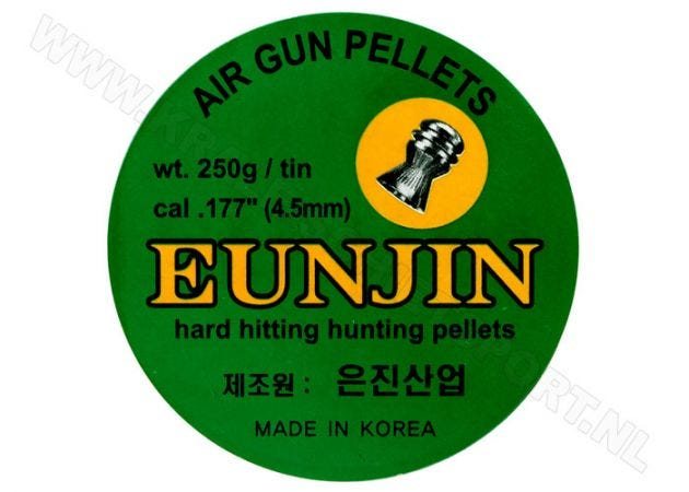 Airgun Pellets Eun Jin 4.5 mm 16.1 grain