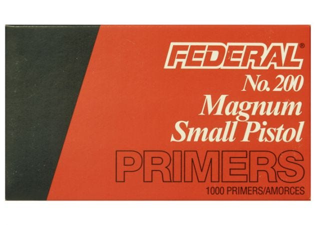 Slaghoedjes Federal Small Pistol Magnum 200