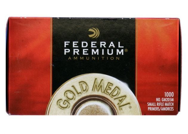 Slaghoedjes Federal Premium Gold Medal Small Rifle GM 205M