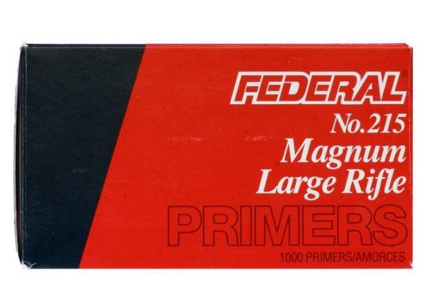 Slaghoedjes Federal Large Rifle Magnum 215