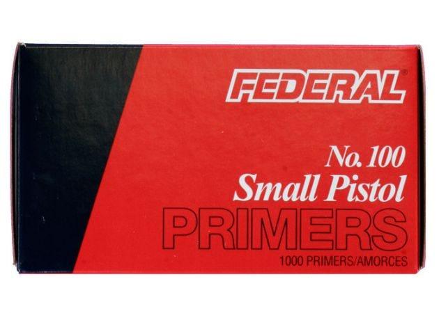 Primer Federal Small Pistol 100