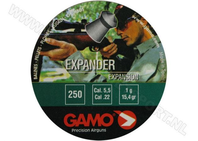 Airgun Pellets Gamo Expander 5.5 mm 15.4 grain