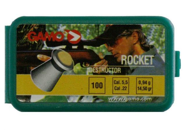Airgun Pellets Gamo Rocket 5.5 mm 14.5 grain